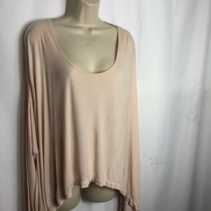 Free People high low swing T size xs 0667